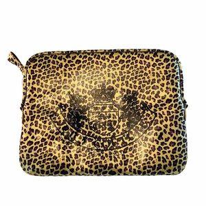 Juicy Couture Laptop Sleeve Case, Pouch - Leopard